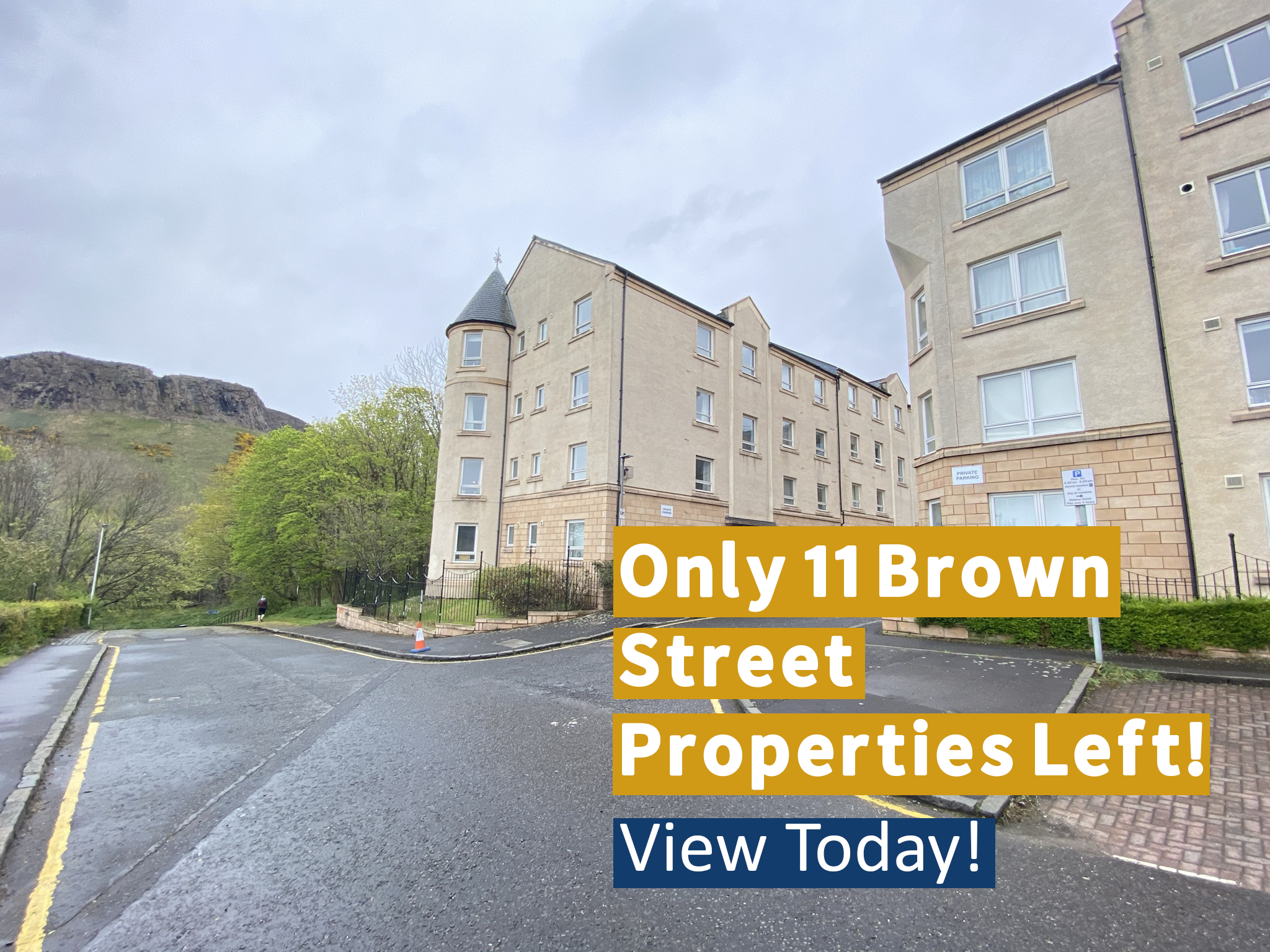 Attention - Only 11 Brown Street Properties Left!