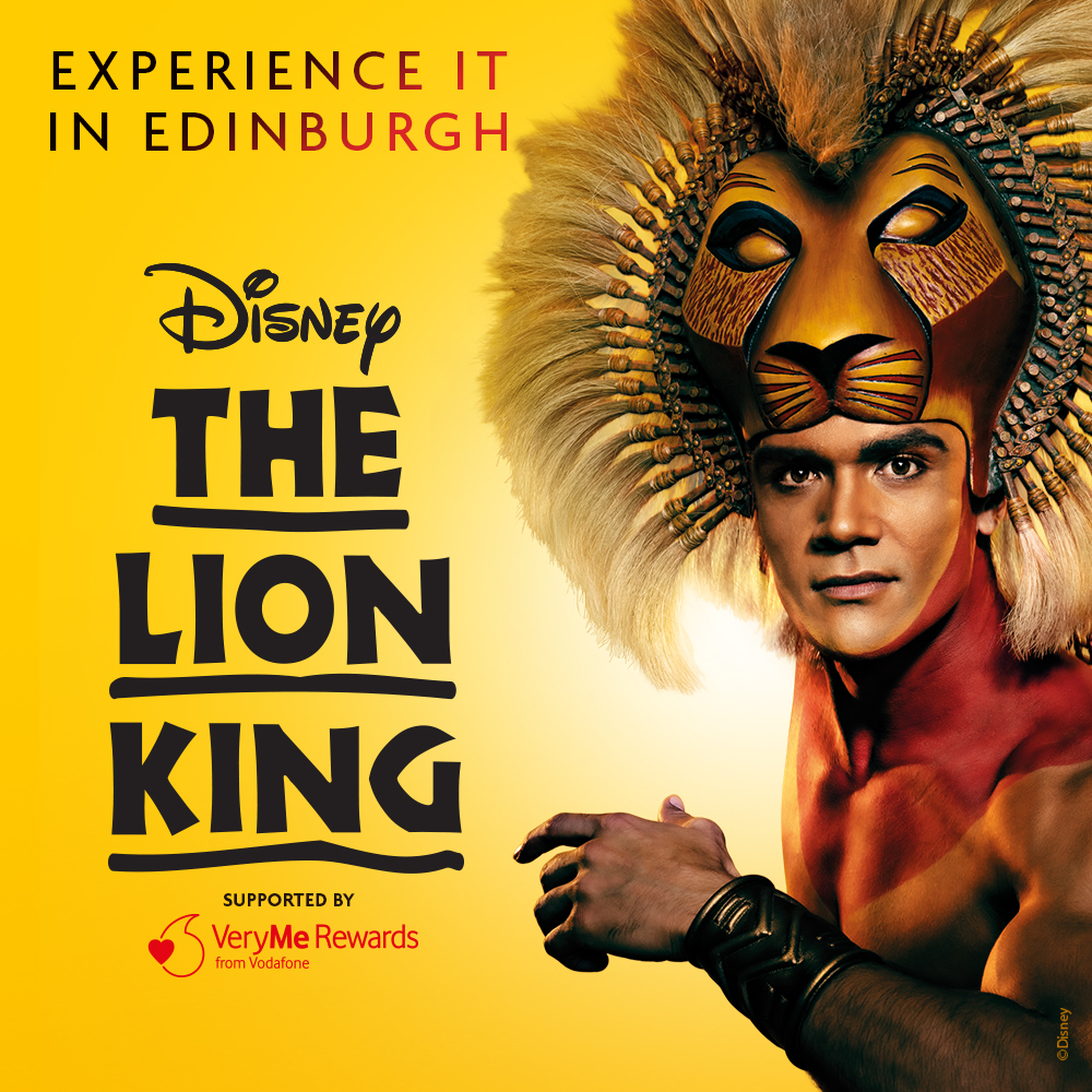 Lion King in Edinburgh - an Exclusive Discount