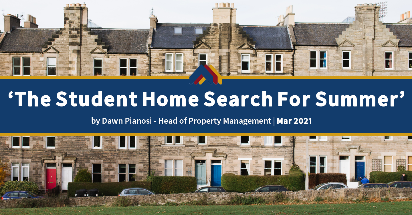 The Student Home Search For Summer - Dawn Pianosi