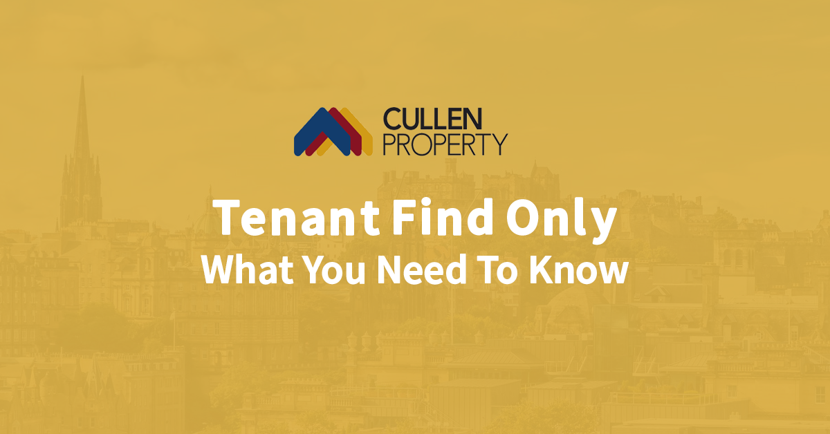 Tenant Find Only – What You Need To Know