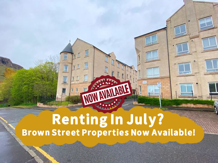 Renting In July? Fantastic Brown Street Properties Now Available!